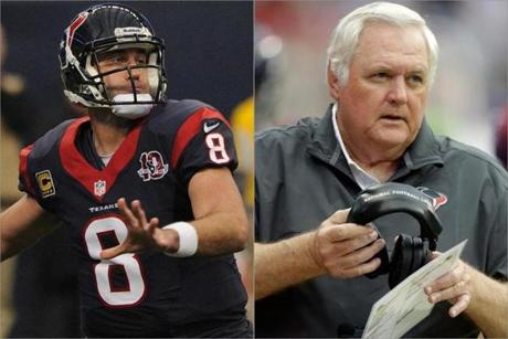 Texans quarterback Matt Schaub and defensive coordinator Wade Phillips need to step up if they want to beat the Patriots.